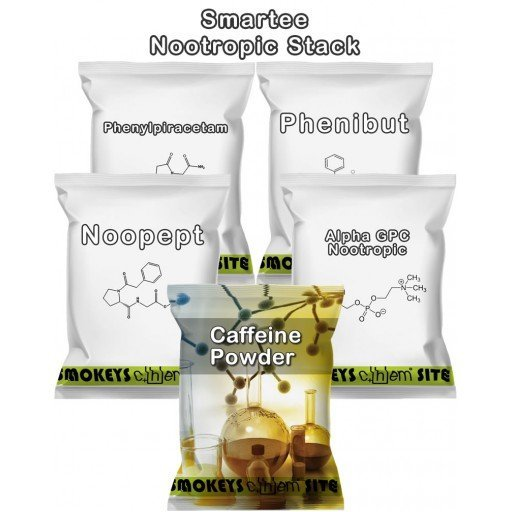 Packs of Smartee Nootropic Stack Research Chemical