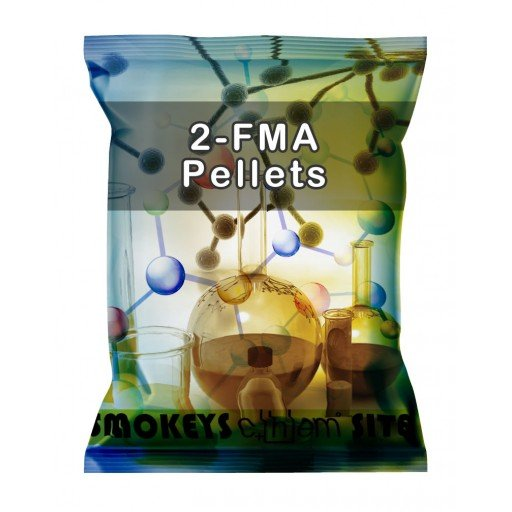 Packs of 2-FMA Hydrochloride 30mg Pellets Research Chemical