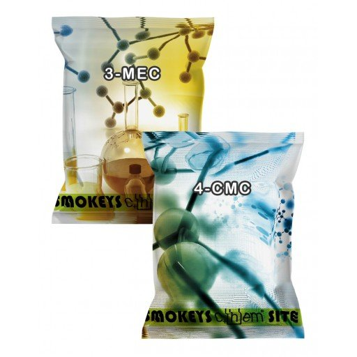 Packs of 3-MEC and 4-CMC Combo Pack Research Chemical