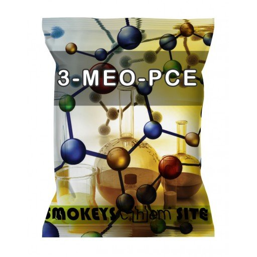 Packs of 3-MeO-PCE Research Chemical