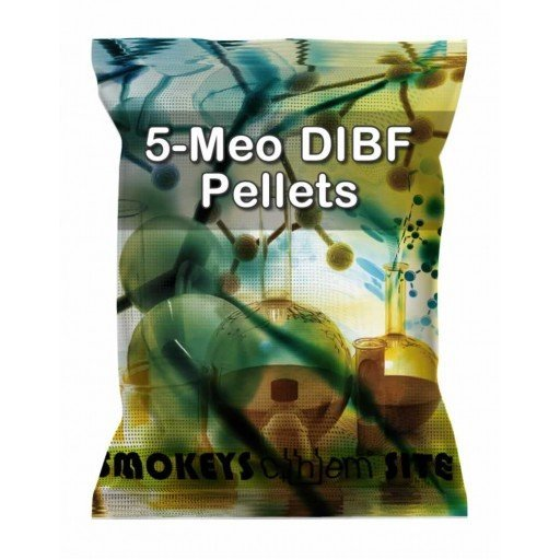 Packs of 5-Meo-DIBF Pellets Research Chemical