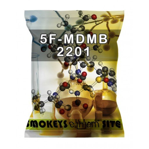 Packs of 5F-MDMB-2201 Research Chemical