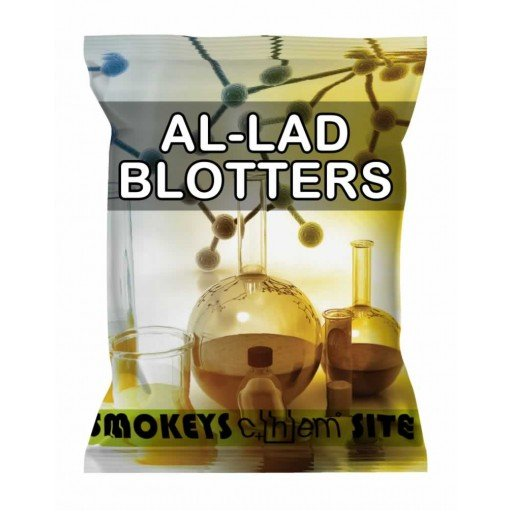 Packs of AL-LAD 150mg Blotters Research Chemical