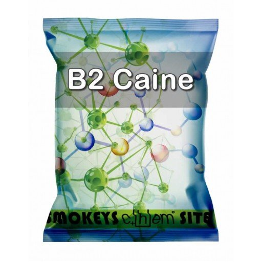 Packs of B2 Caine Research Chemical