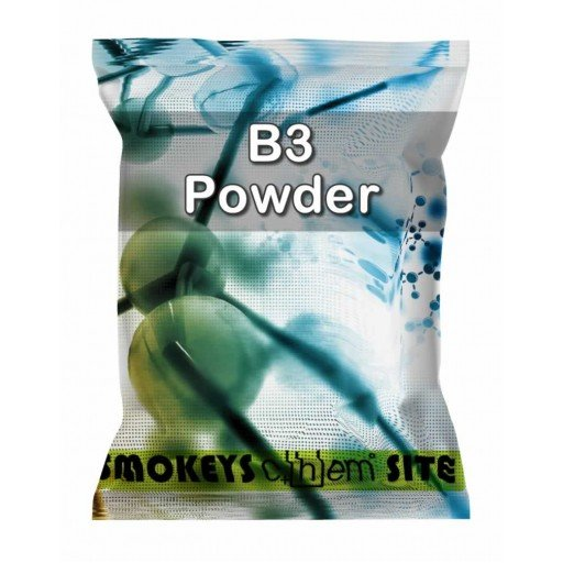 Packs of B3 Powder Research Chemical