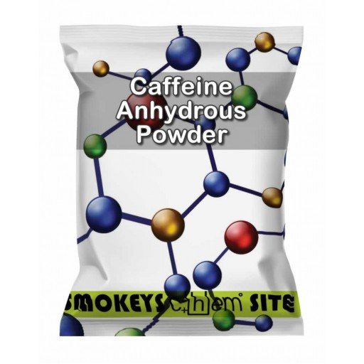 Packs of Caffeine Anhydrous Powder Research Chemical