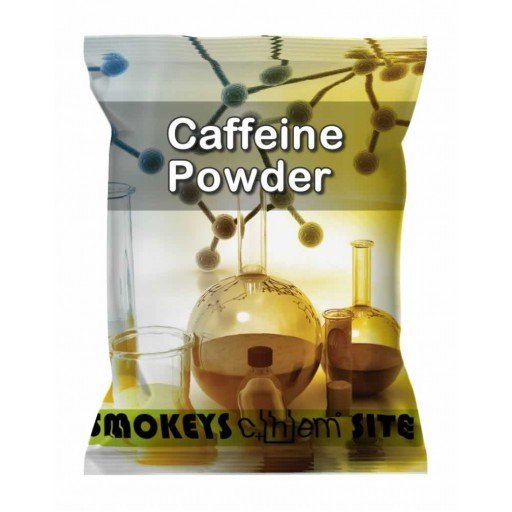 Packs of Caffeine Powder Research Chemical