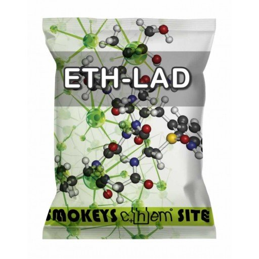 Packs of ETH-LAD 100mcg Blotters Research Chemical