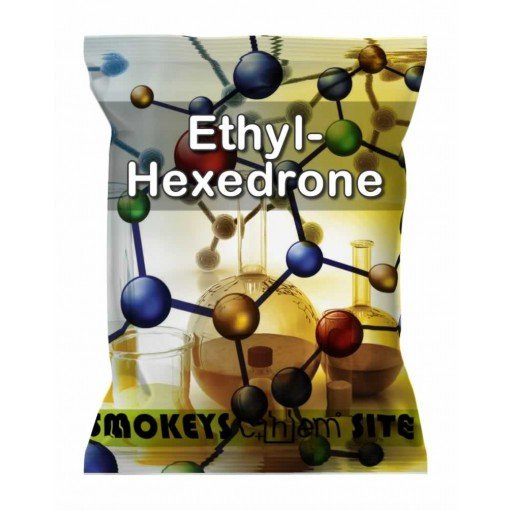Packs of Ethyl-Hexedrone Research Chemical