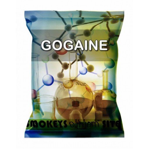 Packs of GoGaine Powder Research Chemical