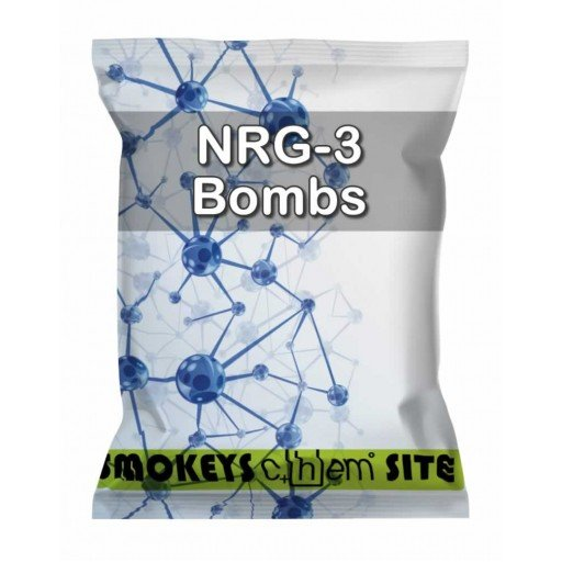 Packs of NRG-3 Bombs Research Chemical