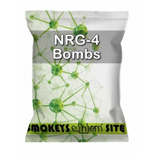 Packs of NRG-4 Bombs Research Chemical