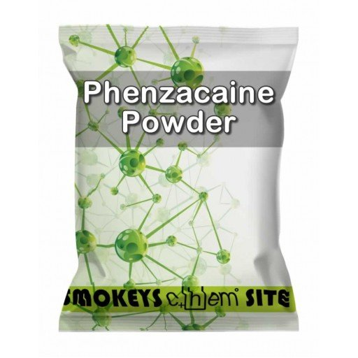Packs of Phenzacaine Powder Research Chemical