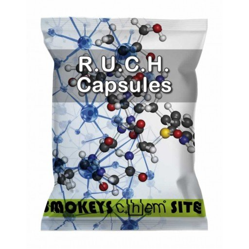 Packs of RUCH Capsules Research Chemical