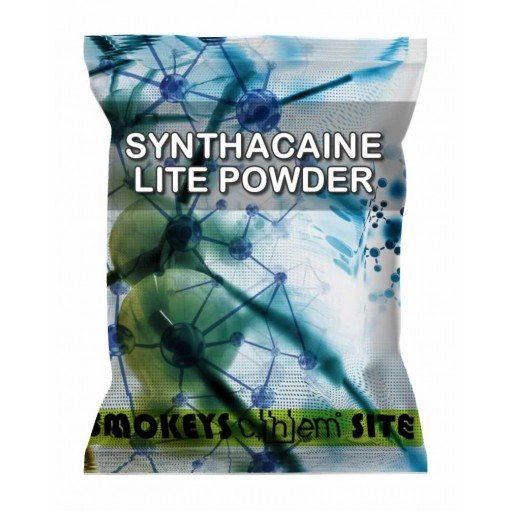 Packs of Synthacaine Lite Powder Research Chemical