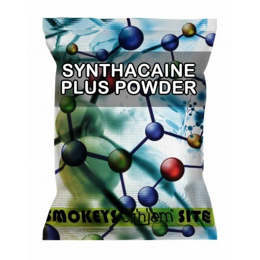 Packs of Synthacaine Plus Powder Research Chemical